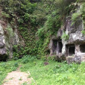 鎌倉時代のやぐらが残る静かな緑地帯:北条氏常磐邸跡